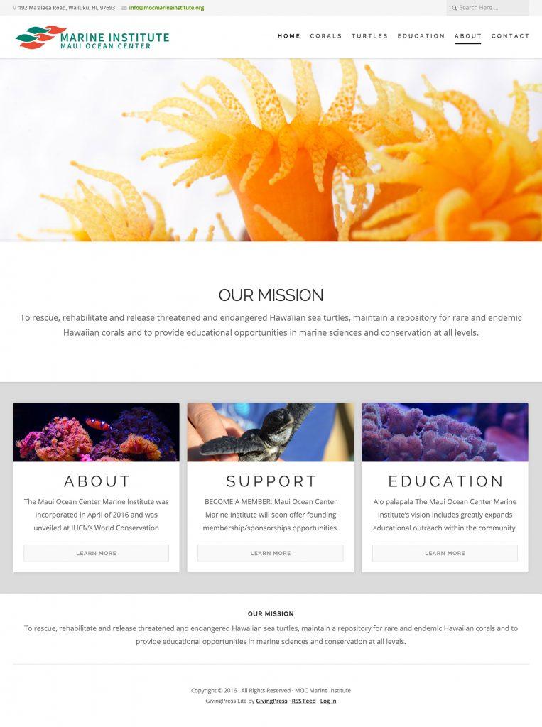 moc-nonprofit-website