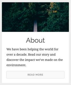 GivingPress Featured Content Widget